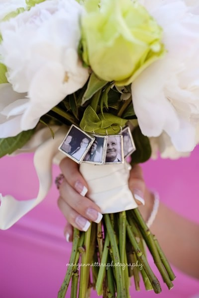 New Trend Picture Charms Of Patents Grandparents To Bridal Bouquets